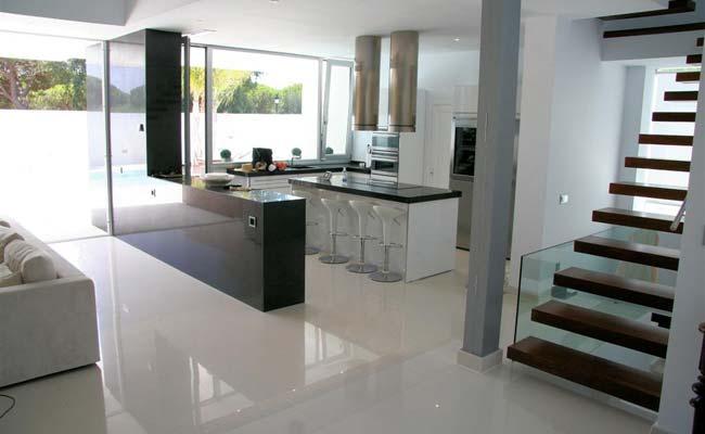Casas minimalistas y modernas propuestas de escaleras - Escaleras para casas modernas ...