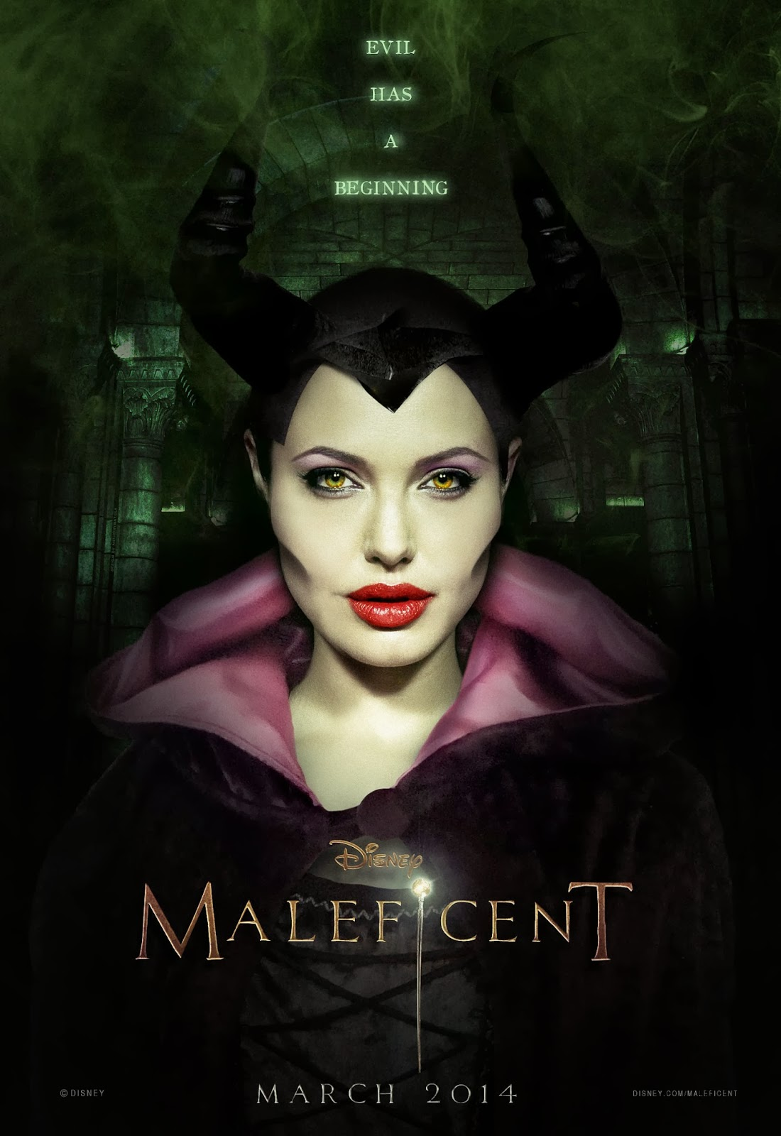 Angelina jolie is not a wicked witch according to angelina jolie