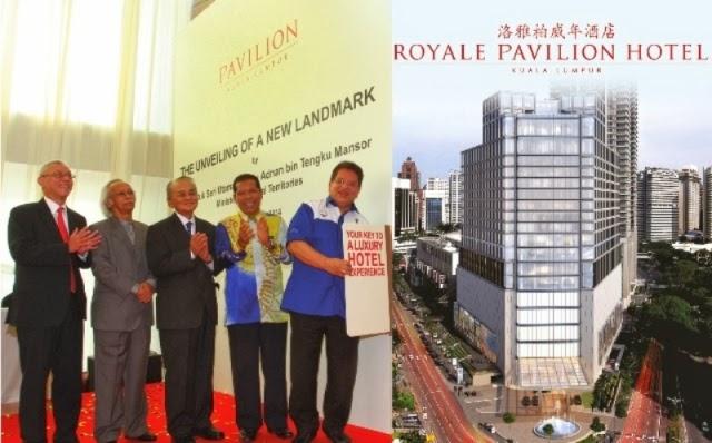Royale Pavilion Hotel, pavilion KL, new hotel, bukit bintang