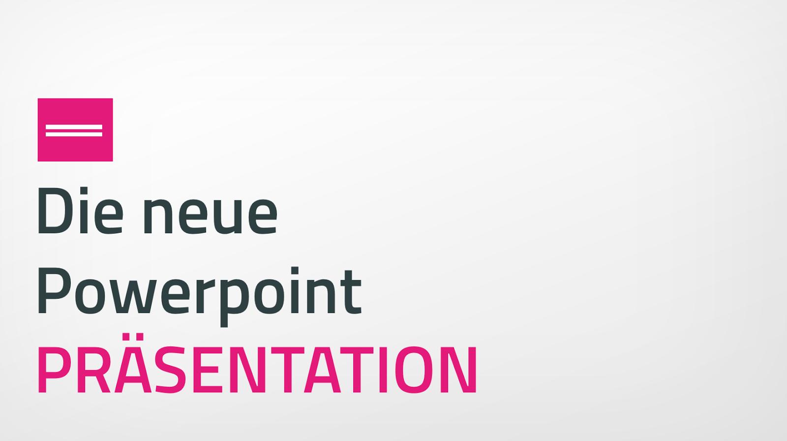 PräsentationsProfi: PPP - Powerpoint Präsentation Folienvorlage