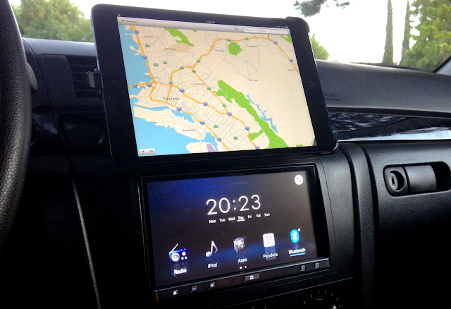 Tablet car install