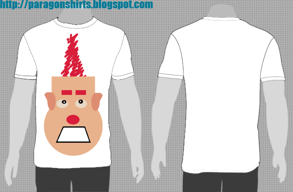 wreck-it Ralph Shirt Design mohawk edition