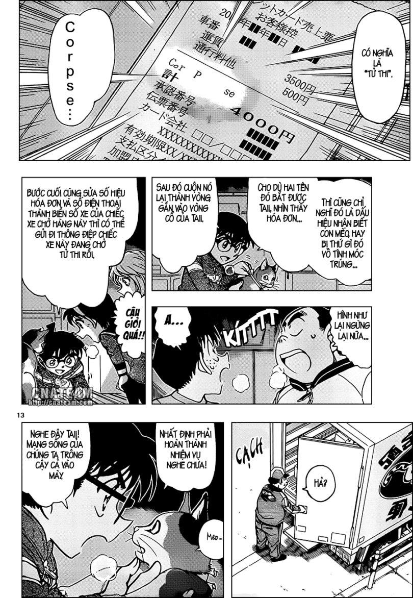 Detective Conan - Thám Tử Lừng Danh Conan chap 842 page 14 - IZTruyenTranh.com