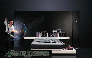 Memilih tempat tidur minimalis sesuai imajinasi