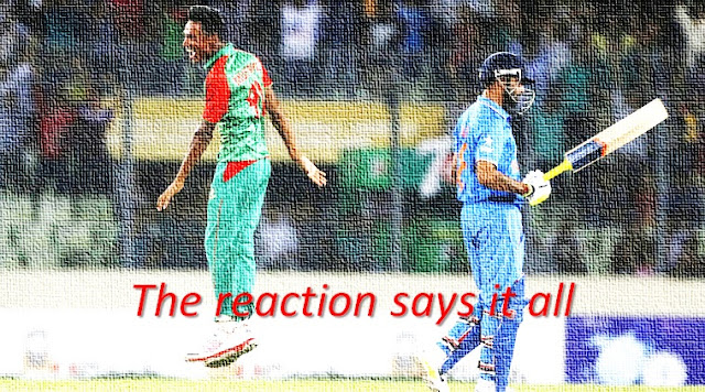 Bangladesh vs India ODI series 2015 - The reaction says it all