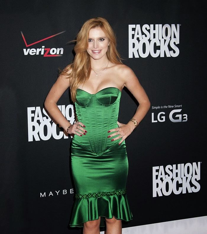 Basking in the event with her special garment design, Bella Thorne looked like the picture of perfect. In maximum style, the 16-year-old is currently making the most of what New York Fashion Rocks 2014 has to over.