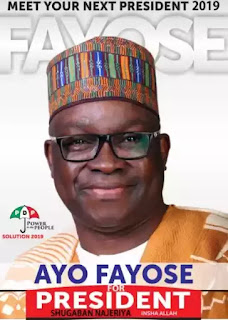 Those I Will Arrest When I Become President – Fayose