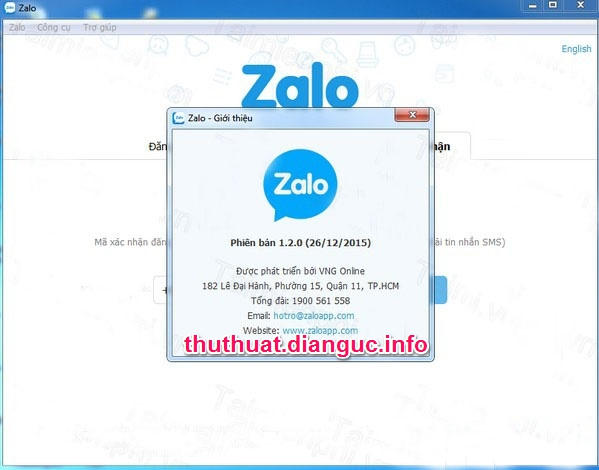 Download Zalo PC 1.2.0 full – Gọi điện, chat, trên PC