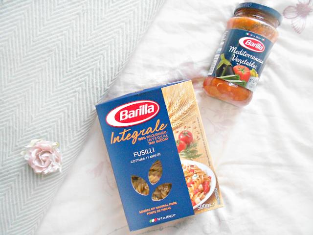 Barilla pasta and sauce