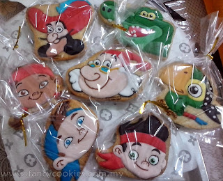 disney's jake and the neverland pirates sugar cookies