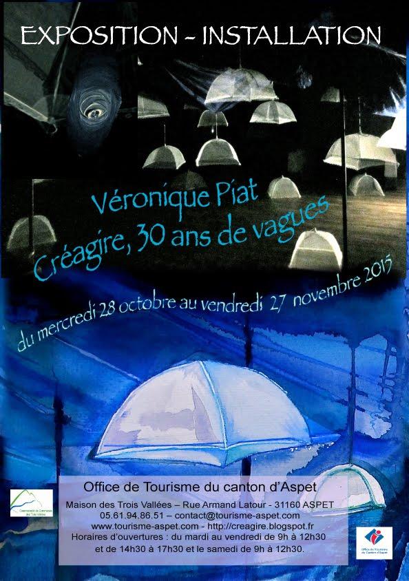 Prochaine expo de Véronique Piat