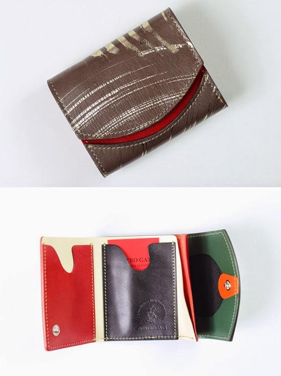 小さい財布 砂紋