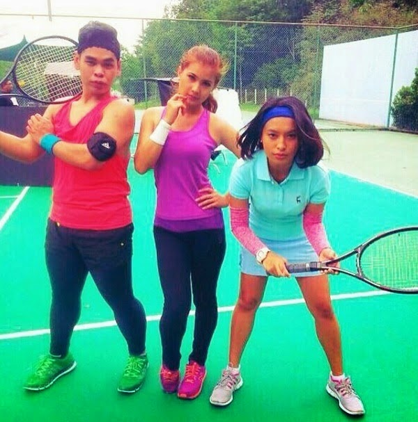 Gambar Nabila Huda Berskirt Main Tenis, info, terkini, hiburan, sensasi, nabila huda, kontroversi,