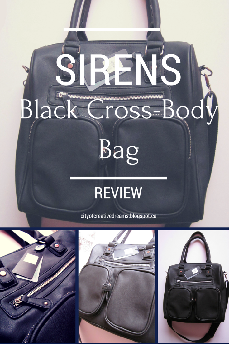 sirens crossbody bag