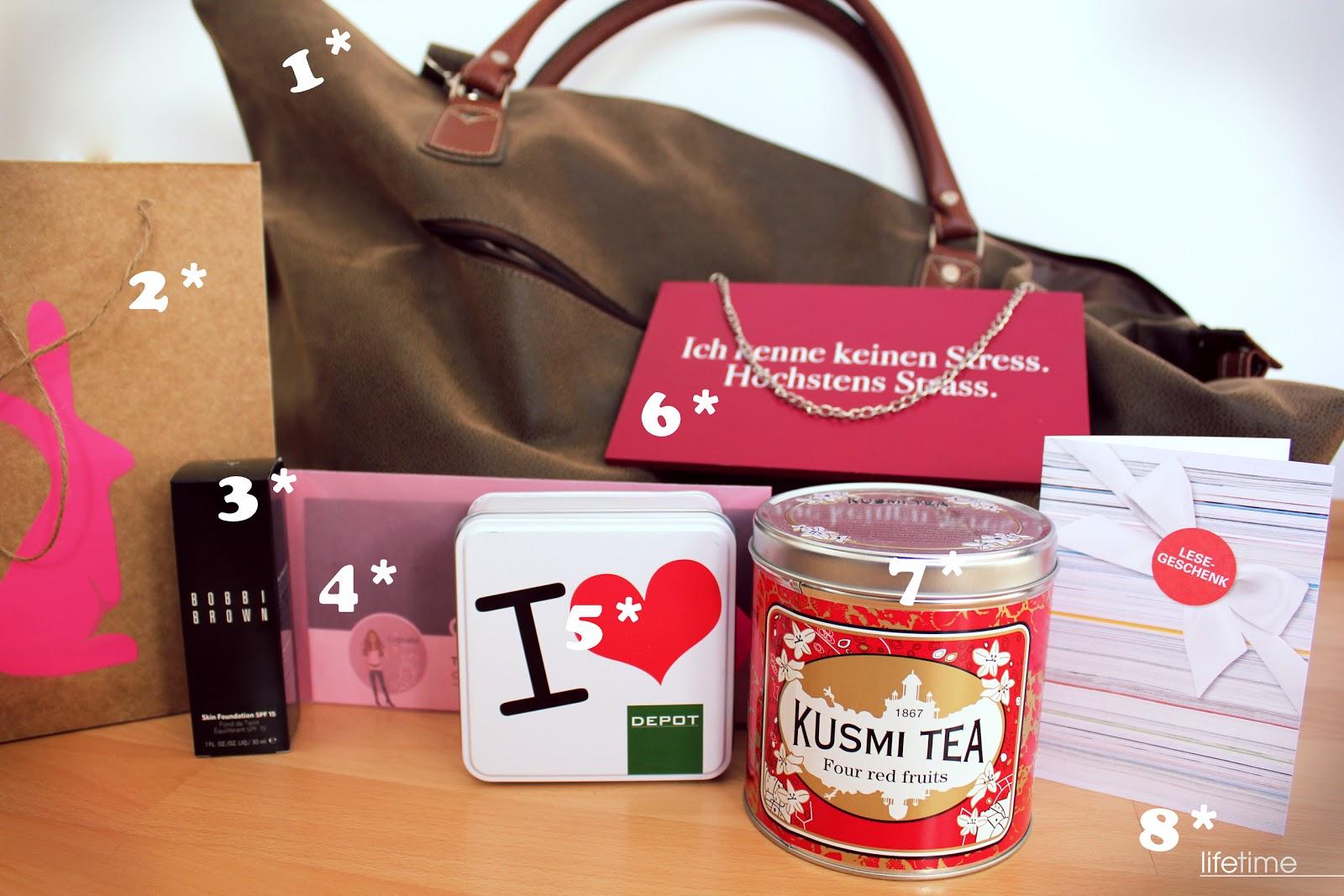 süße geburtstagsgeschenke für die freundin