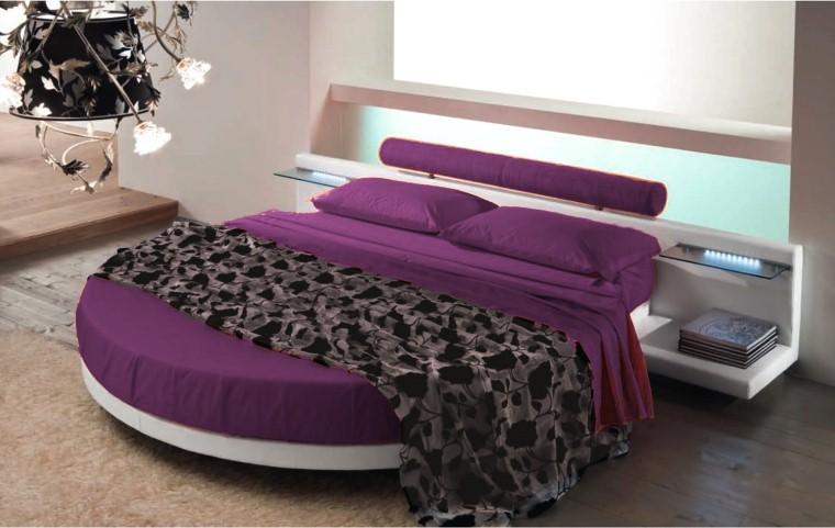 Dise o y decoraci n de la casa cama redonda una buena idea para la decoraci n del dormitorio - Camera da letto con letto rotondo ...