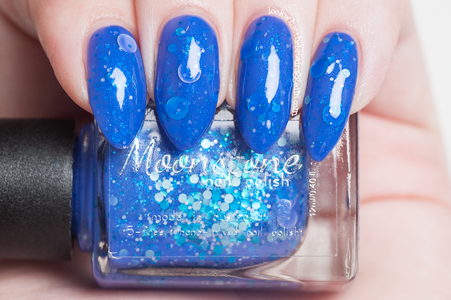 Moonstone Nail Polish Magic Treats collection Bluebell Bubblegum Based from Harry Potter