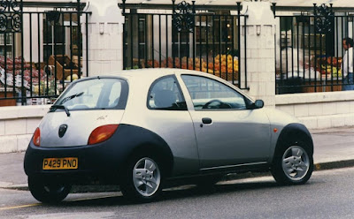 European Ford Ka's got these natty 3 spoke alloys as an option