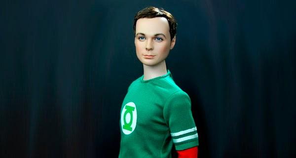 Muñeco coleccionista Jim Parson / Sheldon Cooper