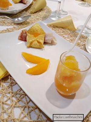 raviolo prosciutto e melone