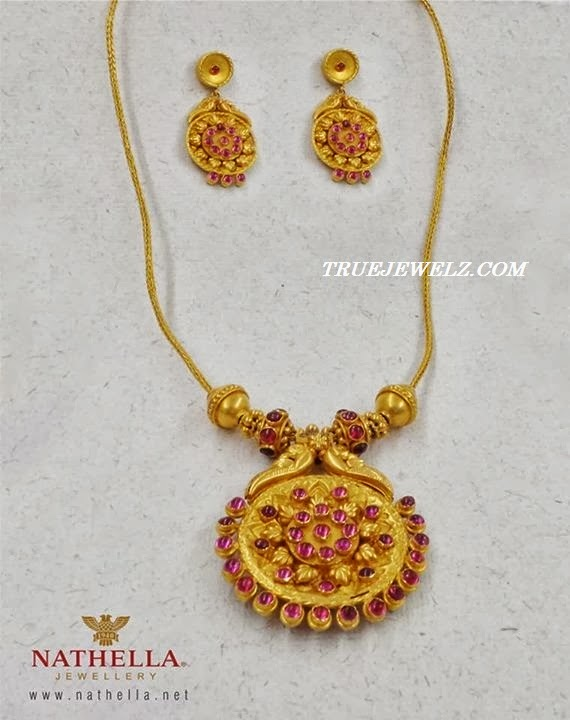 Indian Antique Gold Necklace Sets Antique Gold Necklace From