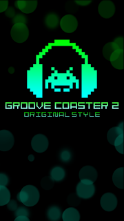 Screenshots of the Groove coaster 2: Original style for Android tablet, phone.