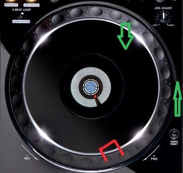 Apa fungsi Jog Dial - jog Wheel pada CDJ