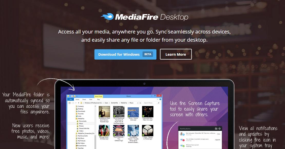 雲端同步硬碟新選: MediaFire 免費50GB就是比 Dropbox 多