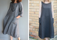 Sewing Pattern: Lily Linen Dress