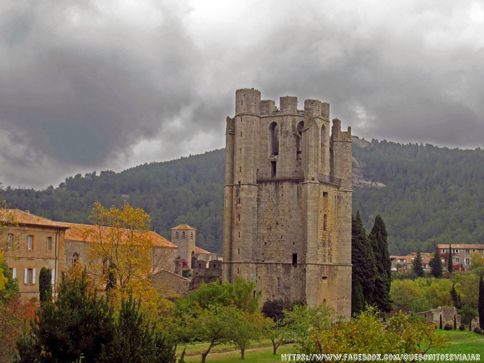 Torre de la Abadía de Santa Maria de Lagrasse