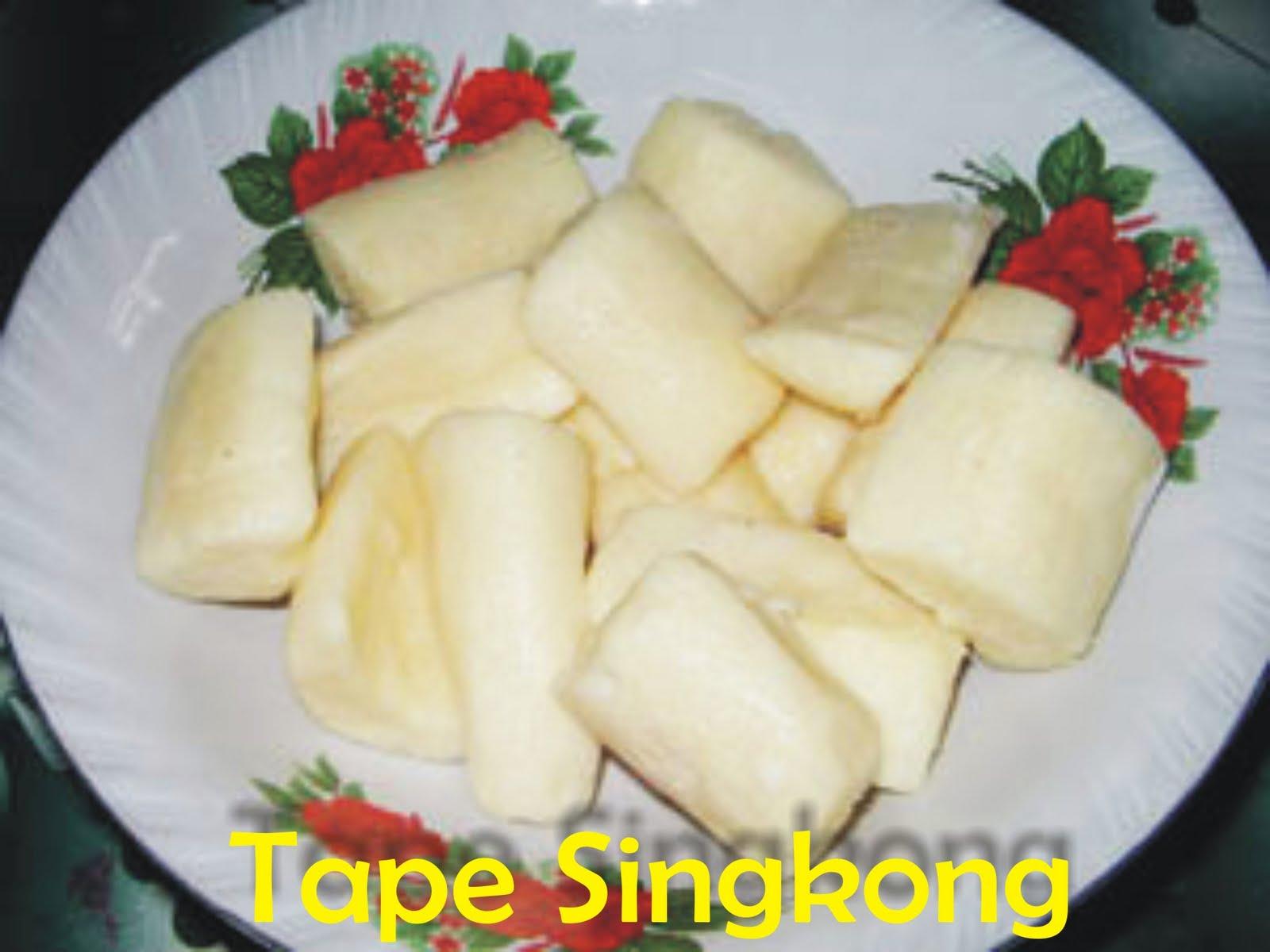 Laporan Pembuatan Tape Singkong