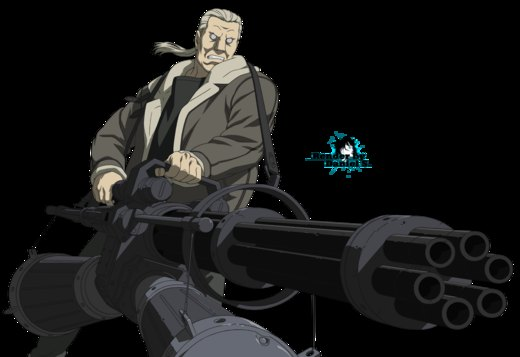Ghost in the Shell - Batou por Aoi-Smile