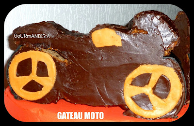 Image Gâteau moto