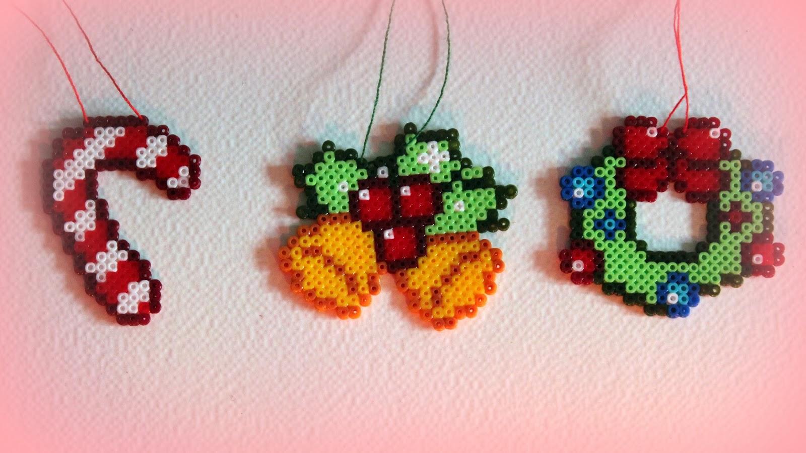 Hama beads dise os - Plantillas de adornos navidenos ...