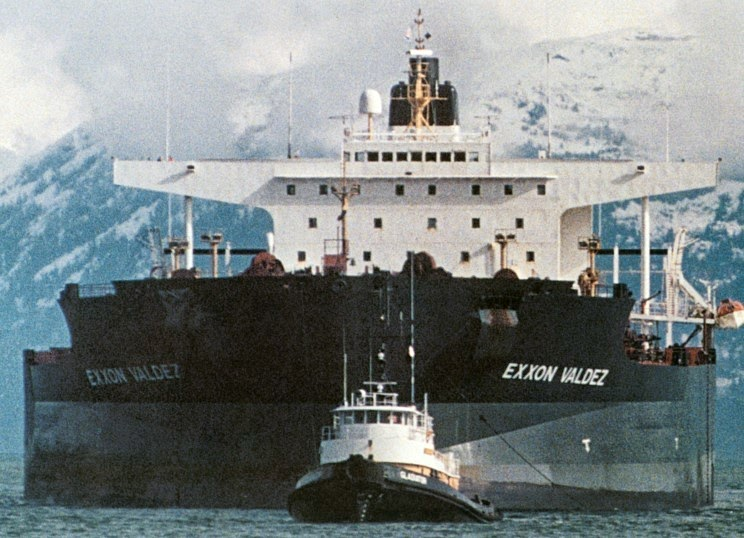 Image of the Exxon Valdez