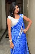 Bindhu latest sizzling saree pics-thumbnail-11