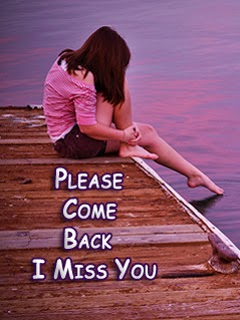 Love come Back Wallpaper : Please come Back - I Miss You Girl 240x320 Wallpaper Mobile Wallpapers Download Free Android ...