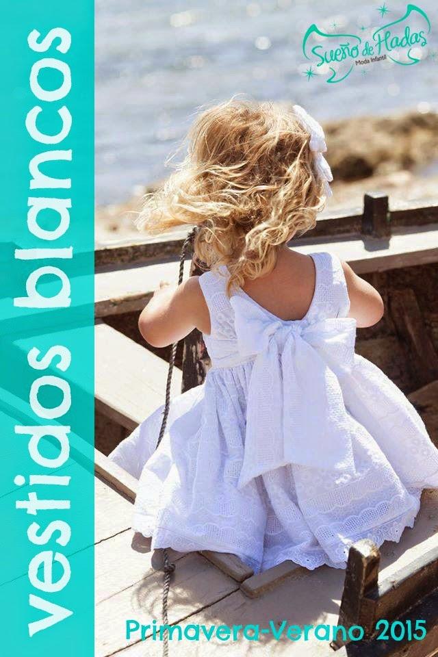vestido blanco niña - Sueño de Hadas tienda online