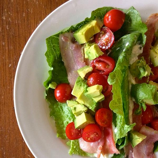 BLT Lettuce Wraps Recipe — Dishmaps