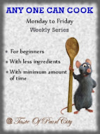 Any One Can Cook   Monday to Friday