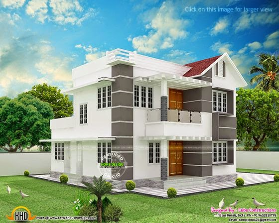 Modern house by Cube Constructions