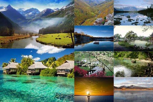 Los colores de nuestro planeta IX (10 paisajes naturales)