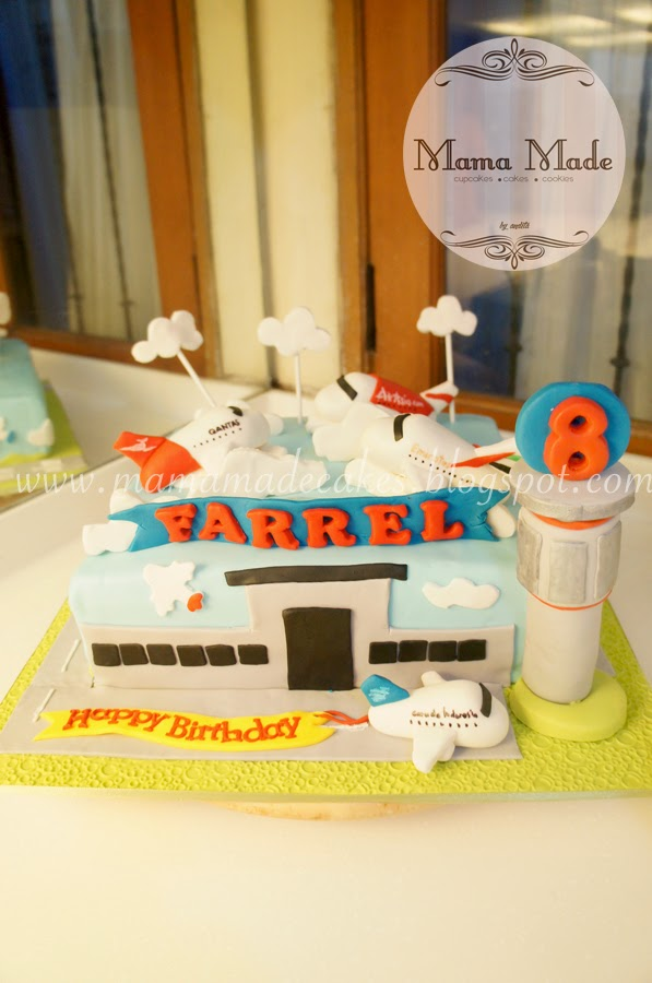 Airportairplane Themed Birthday Package Mama Made Cakes