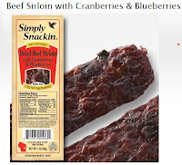 Simply Snackin better than beef jerky! 2