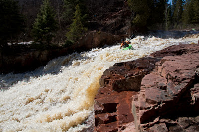 Ben Kinsella realigning on Winfrey's Whimper, minnesota, split rock river, Chris Baer