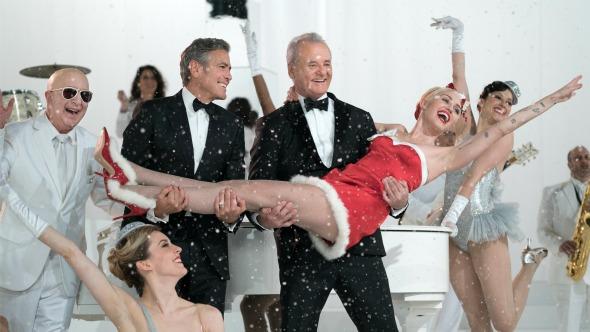 """Miley Cyrus canta clásicos navideños en el nuevo trailer de """"A Very Murray Christmas""""."""