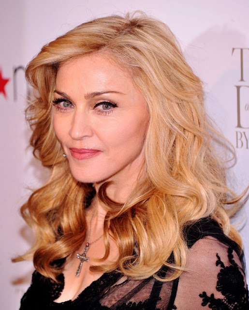 Madonna no lanamento do perfume Truth or Dare