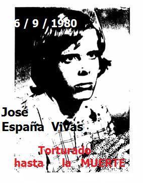 Nuestros mártires en la Transición. 35 años del asesinato de José España Vivas