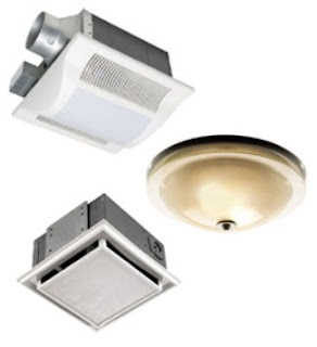 variant of Ceiling Mounted Bathroom Exhaust Fan