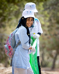 Clean Up Day in Rahat, Israel 2012